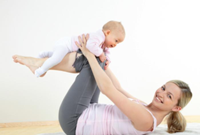 Gimnasia Posparto con Bebé