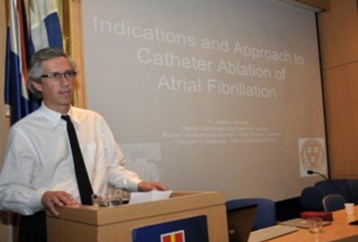 Conferencia: Avances en el tratamiento no farmacológico de la fibrilación auricular