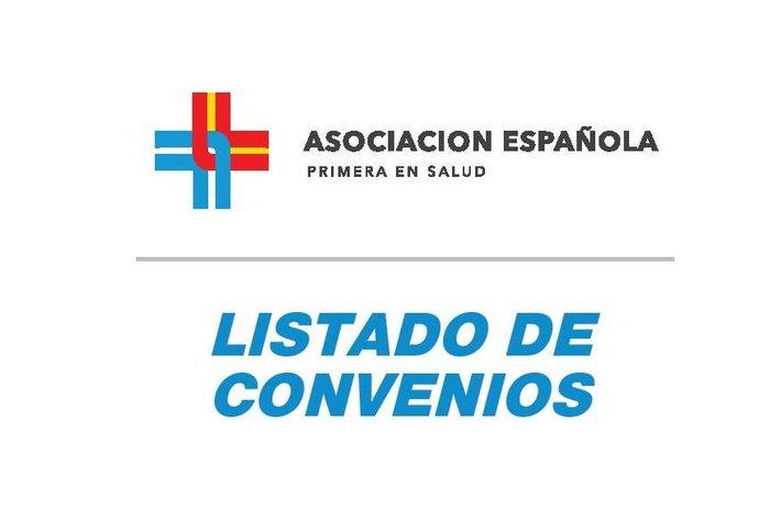 Listado de Convenios con empresas e instituciones