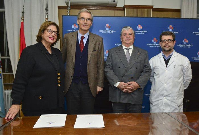 Asociación Española y Universidad de Montevideo firman convenio de cooperación en capacitación médica