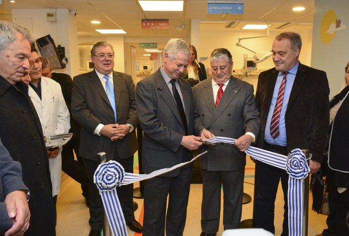 Se inauguró la nueva Emergencia Pediátrica de la Asociación Española