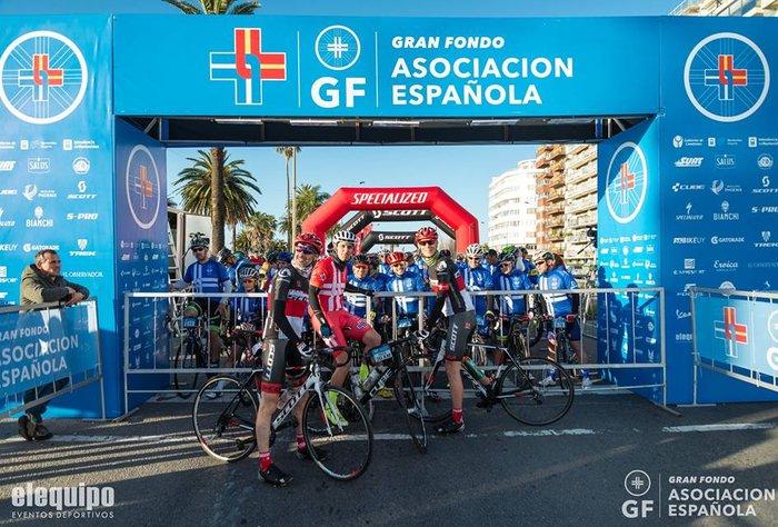 La fiesta del Gran Fondo Asociación Española
