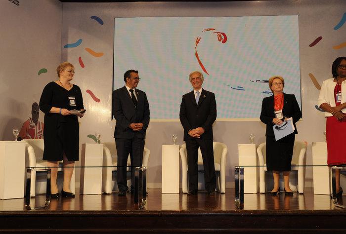Conferencia de la OMS en Uruguay sobre Enfermedades No Transmisibles