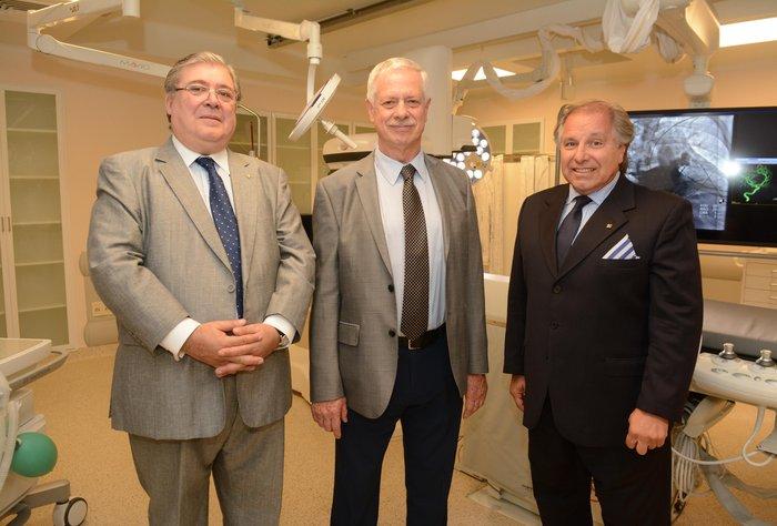 La Asociación Española inauguró nuevas instalaciones y equipamiento para el área de cardiología intervencionista