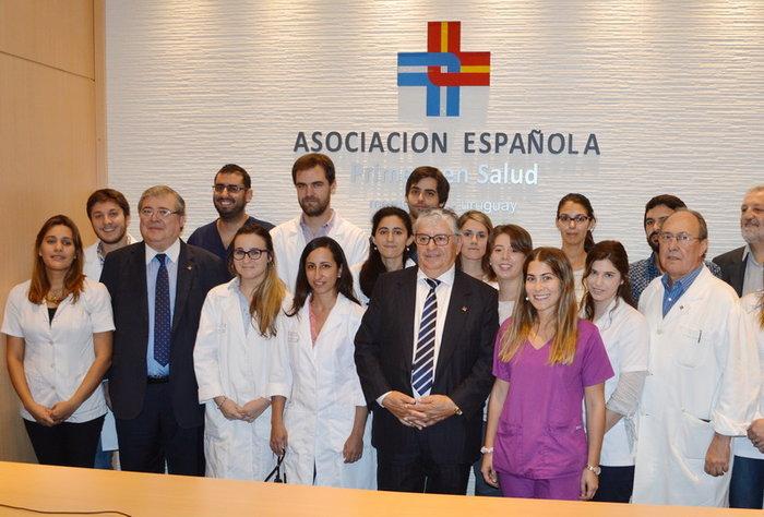 La Asociación Española dió la bienvenida a los nuevos médicos residentes 2018