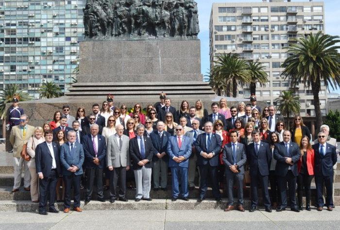 Actos protocolares por el 165 aniversario de la Asociación Española