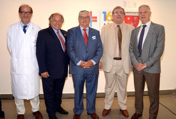 Con presencia de autoridades nacionales quedó inaugurada la nueva policlínica de Cardiocentro