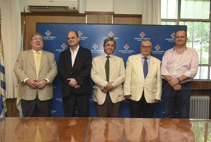Asociación Española brindará la cobertura de salud al Antel Arena