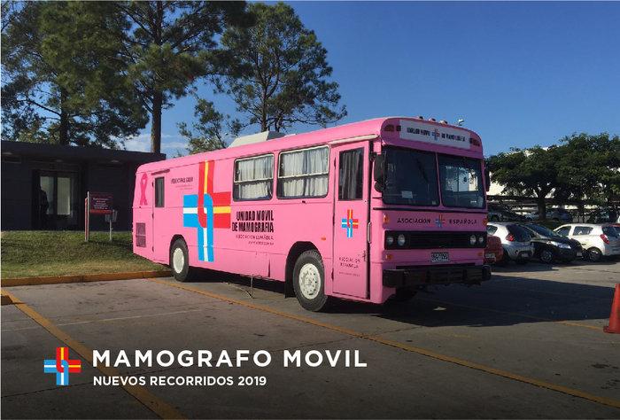 ¡Mirá el recorrido de nuestro mamógrafo móvil!
