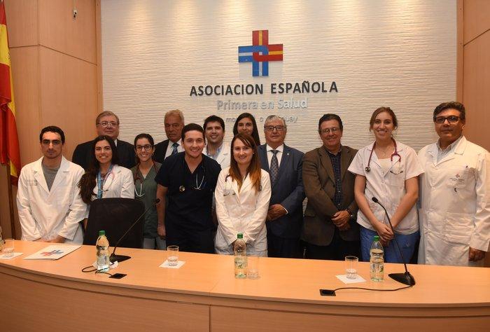 Bienvenida a los nuevos médicos residentes de la Asociación Española 2019
