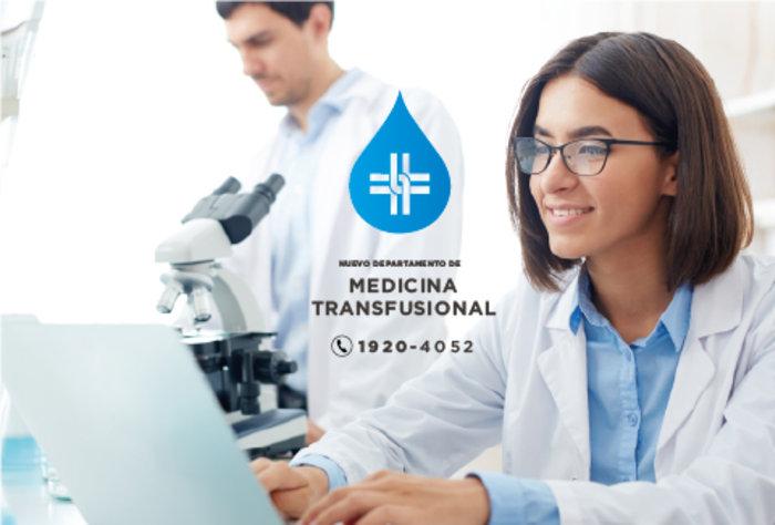La Asociación Española inauguró moderno departamento de Medicina Transfusional
