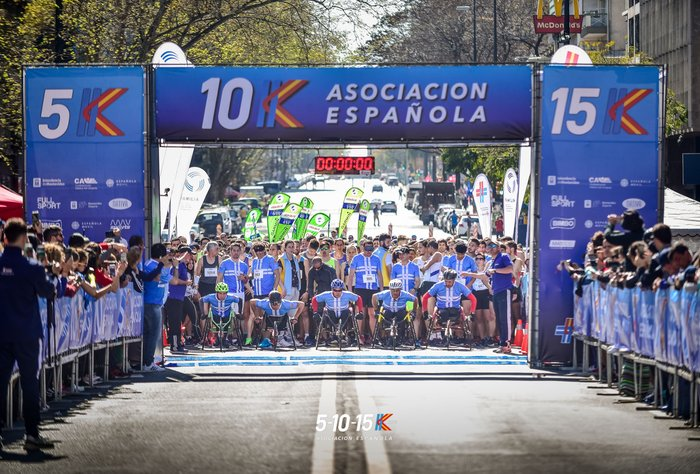 Vivimos la fiesta de la 5k/10k/15k 2019 de la Asociación Española