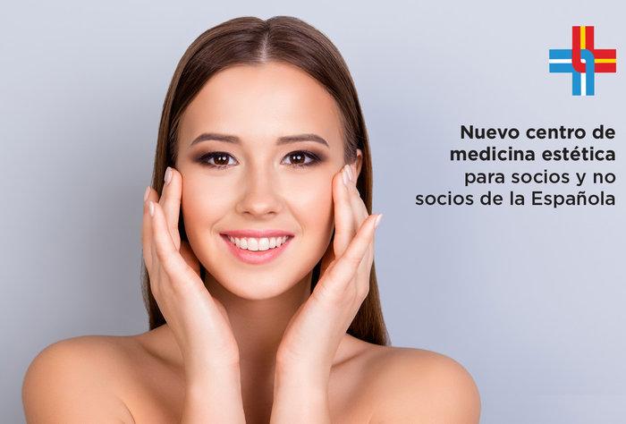 Inauguramos un Centro de Medicina Estética, para socios y no socios de la Española