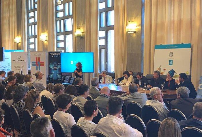 Promoviendo el deporte y la salud en la carrera de Montevideo