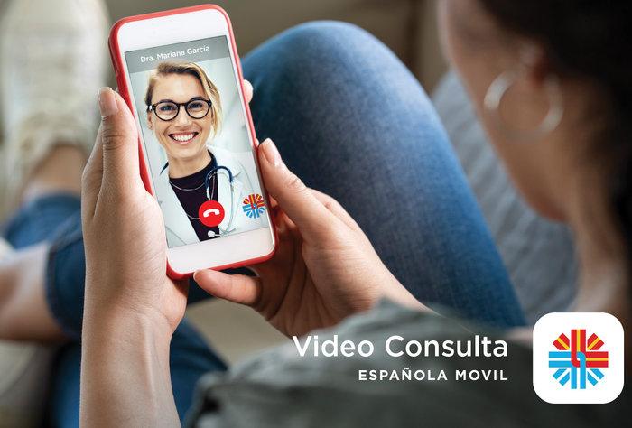 Española Móvil creó el primer sistema de video consulta médica gratis