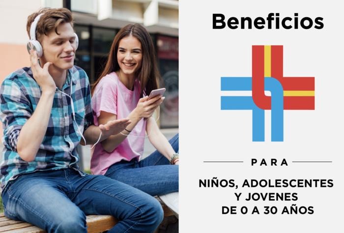 Los mejores beneficios para niños, adolescentes y jóvenes están en la Española