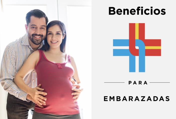 Mirá los beneficios que tenemos para embarazadas