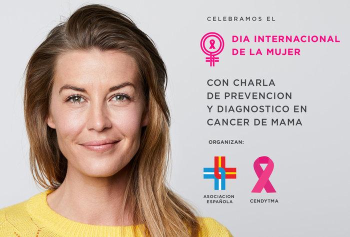 En ocasión del día de la Mujer la Española invita a una charla de prevención y diagnóstico