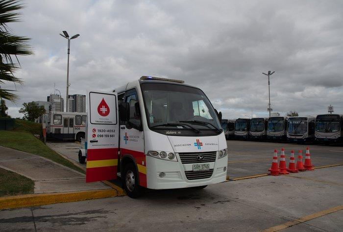 Cutcsa se suma a la jornada voluntaria de donación de sangre a través de la unidad móvil de la Española