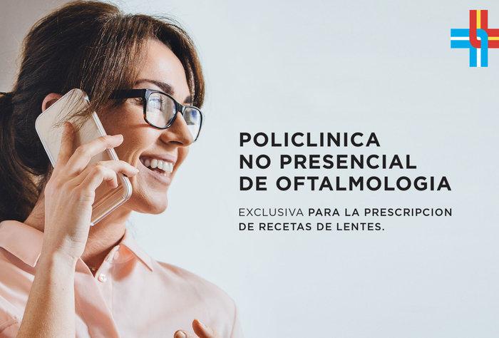 La Asociación Española creó una policlínica no presencial en oftalmología para prescripción de recetas de lentes