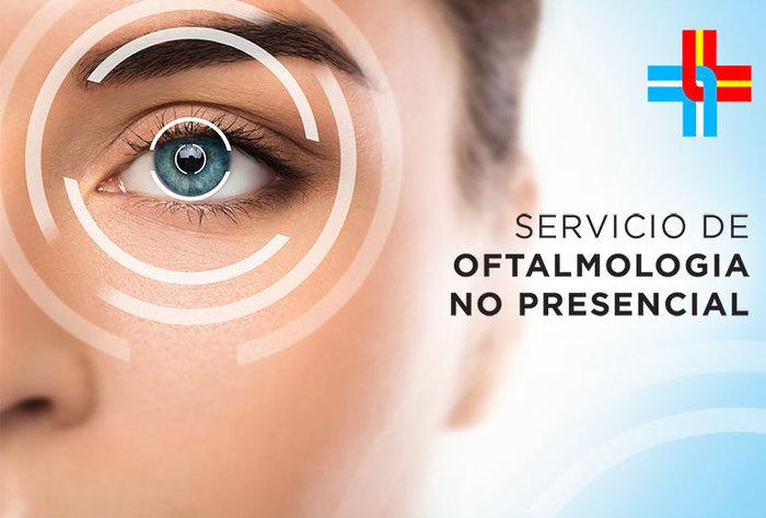Servicio de atención no presencial en Oftalmología