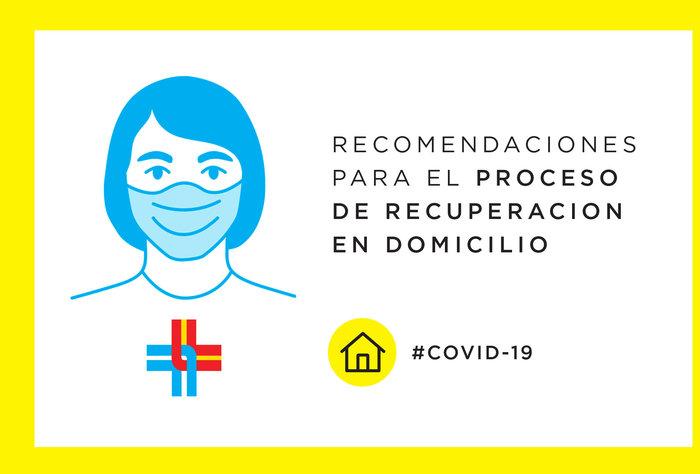 COVID-19: Recomendaciones para el proceso de recuperación en domicilio