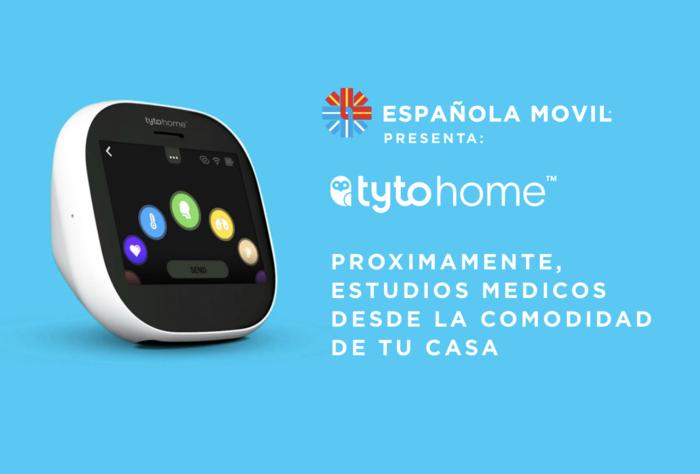Española Móvil presenta Tyto Home, un dispositivo para realizar estudios médicos desde tu casa