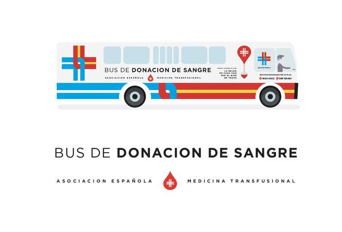 La Asociación Española incorporó un ómnibus especialmente equipado para donación de sangre ambulatoria