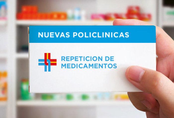 Nueva dirección de Policlínica de Repetición de Medicamentos en Sede Central