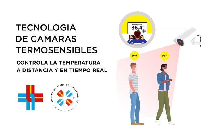 La Española incorporó cámaras con tecnología termosensible para detectar temperatura