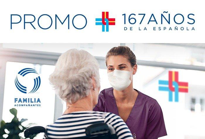 """Afiliate a FAMILIA Acompañantes con la """"Promo 167 años de la Española"""""""