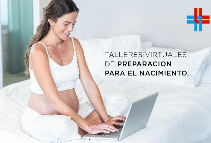 Talleres virtuales de Preparación para el Nacimiento a mamás embarazadas