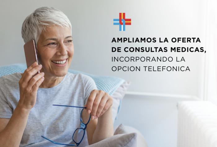 La Asociación Española amplió la oferta de consultas médicas, incorporando la opción telefónica