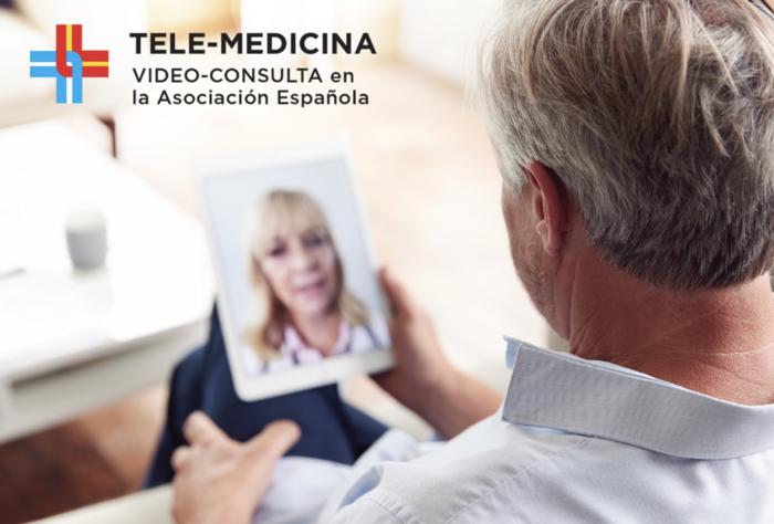 Video-consulta en la Asociación Española