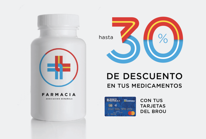 Descuentos en Farmacia pagando con tarjetas BROU