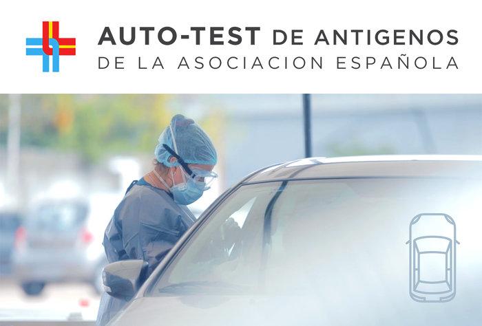 Auto test de antígenos de la Asociación Española