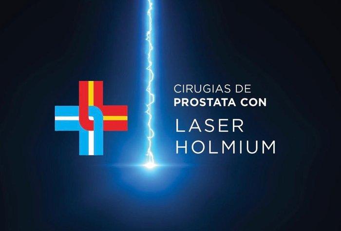 Cirugía láser de próstata con equipo de última tecnología